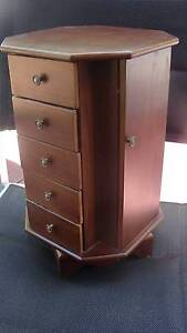 Swivel Base Jewelry Armoire Highland Park Gold Coast City Preview