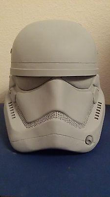 Star Wars Episode 7 new Stormtrooper Helm Resin 1:1 Raw Cast Movie Prop