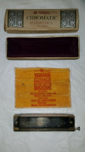 VTG. Yamaha Chromatic Harmonica  No 1200