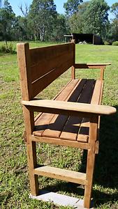 Rustic bench, garden seat, handmade Rossmore Liverpool Area Preview