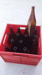 Home Brew Bottles-XXXX x 1 Doz + Crate.beer,keg,beer making,caps. Ningi Caboolture Area Preview