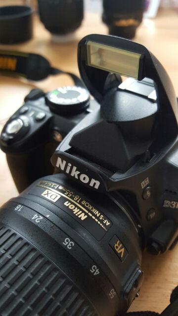 Nikon D3100 Digitalkamera riesen Bundle mit Garantie