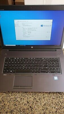 HP ZBook 17 G4 17.3 in 1TB NVMe 32GB DDR4 Intel Xeon E3-1505M v6 Quadro P3000