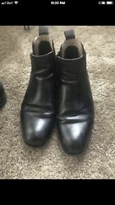 H &M boots paid $100 lightly worn $8!! Size 41/8.5 mens