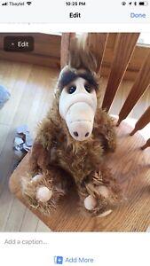 1986 vintage Alf stuffed animal Doll