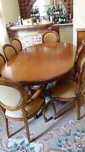 9 piece Italian Extendable Dining Table Beverley Park Kogarah Area Preview