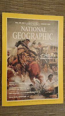 National Geographic- QUEENSLAND BROAD SHOULDER OF AUSTRALIA - January 1986