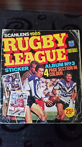 Scanlens rugby league sticker book Regents Park Auburn Area Preview