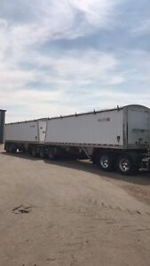 Wilson Super B Grain trailers