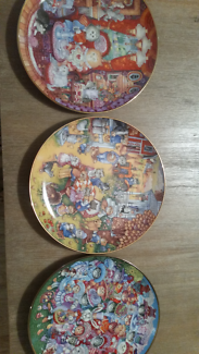 Bill and bell limited edition collector cat plates easter Pinjarra Murray Area Preview
