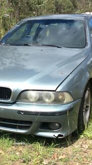 Bmw e39 angel eye headlights and clear lens Taillights