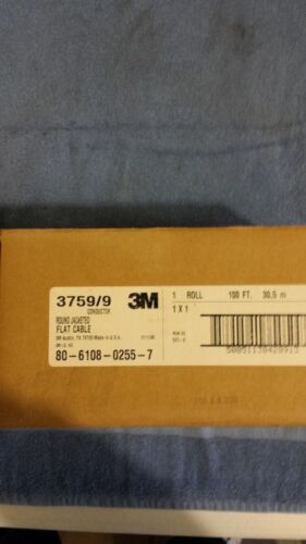 3M 3759/9 Round flat cable 9 Cond.  100