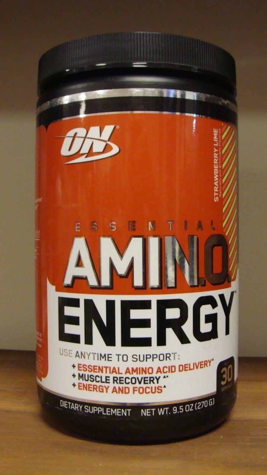 Optimum Nutrition Amino Energy Supplement, Strawberry Lime,