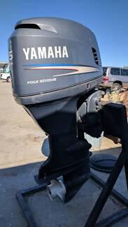 115 hp Yamaha 4-Stoke Outboard Motor