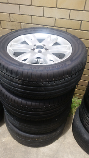 Volvo xc 90 mag wheels with tyres 255 55 18
