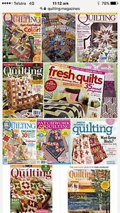 Wanting free Patchwork / Quilting magazines for beginner sewing Cooks Hill Newcastle Area Preview
