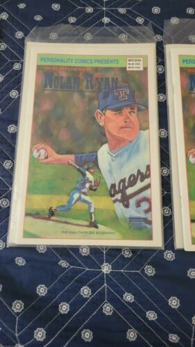 1992 Nolan Ryan Comic Book (2) Book Lot /2000