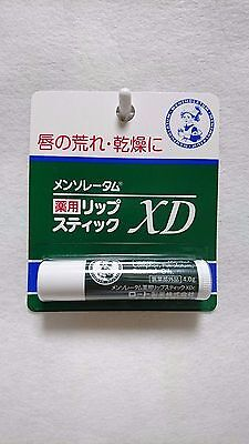 F/S Rohto Mentholatum MEDICATED LIP STICK XD From Japan