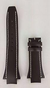 Breil-Milano-Eros-Brown-Strap-Replacement-BW0306-Genuine-Leather-Watchband-Breil