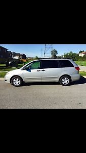 2006 Toyota Sienna Plus, 128 000 KM, 8 Seats, 1 Owner