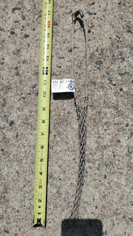 Amtec Strain Relief Grip Stainless Steel Diamater Range .7 To .85