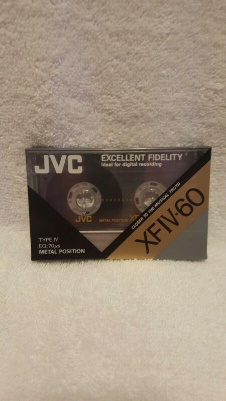 JVC XFIV-60 Metal Cassette new sealed....