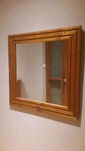 Everyday living recycled timber mirror Rankin Park Newcastle Area Preview