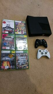 64gb Xbox 360 + 6 games Flora Hill Bendigo City Preview