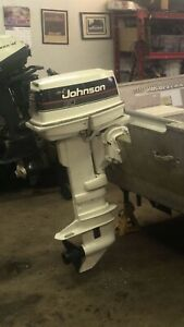30HP outboard motor  works great