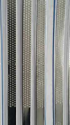 Microdont Usa Diamond Hive Turbo Stainless Steel Strips 4mm Medium 6box