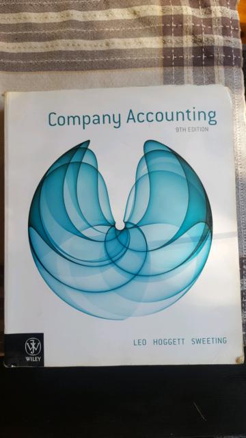 Company accounting 9th edition leo hoggett sweeting textbooks company accounting 9th edition leo hoggett sweeting textbooks gumtree australia marrickville area marrickville 1180421121 fandeluxe Choice Image