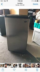 SANYO STAINLESS STEEL BAR FRIDGE