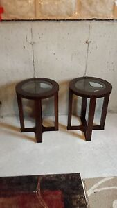 Like New Dark Oak Solid Wood Coffee and End Tables, 2 years old St. John's Newfoundland image 5