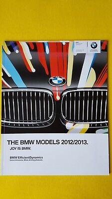 BMW car sales brochure catalogue M135i 320 520 750i 118 M3 M4 X5 X3 M6 2012 MINT