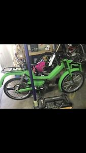 Puch moped, needs work