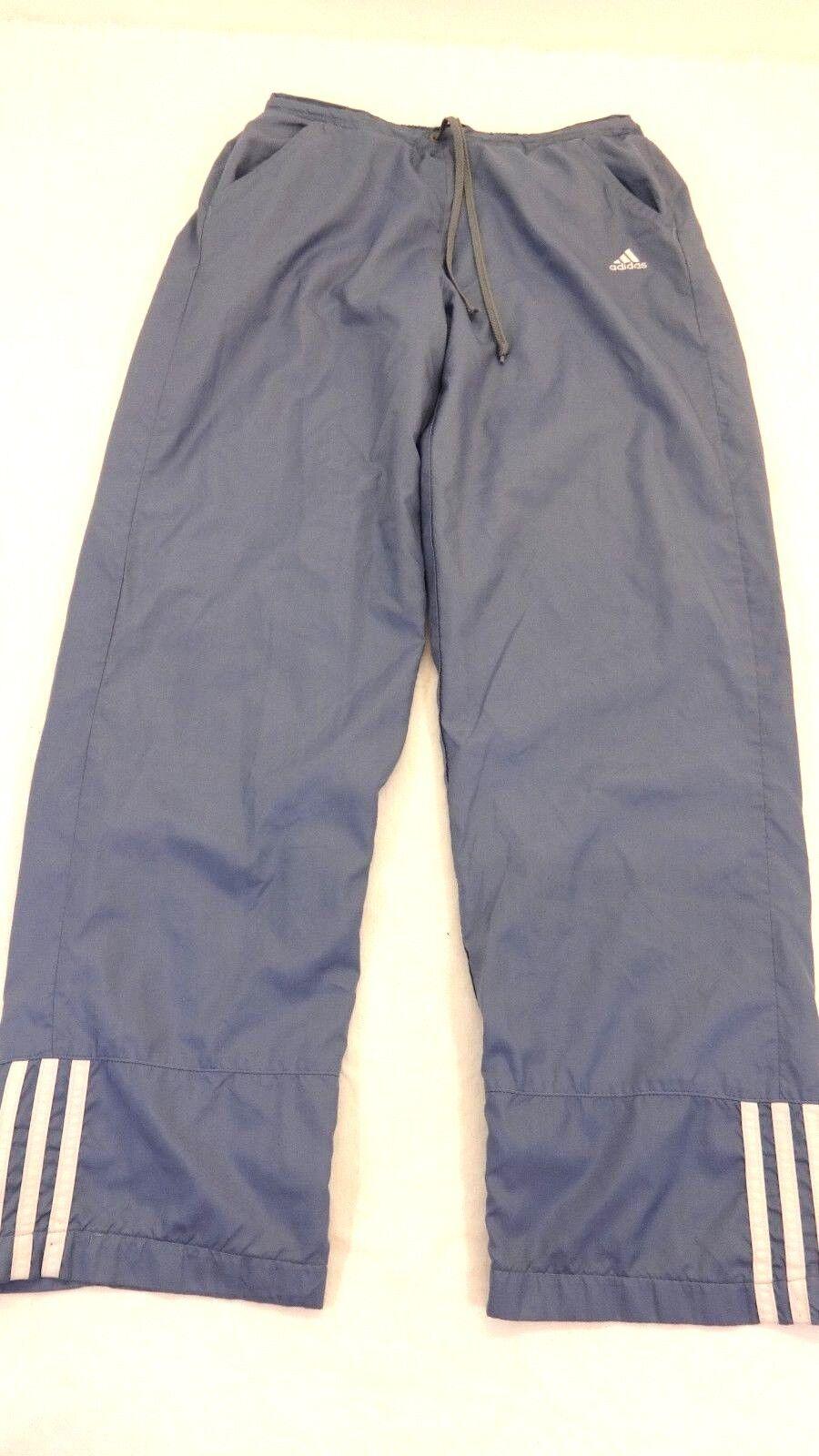 Adidas Mujer Rip Stop Forro Pantalones Algodón Azul De Detalles Deportivo Poliéster Qhdtsr