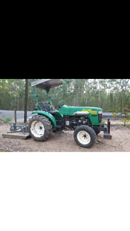 Tractor and Slasher Narangba Caboolture Area Preview