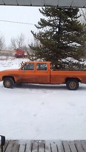 Old CN truck for sale well taken care of