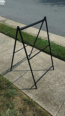 Metal A Frame Sidewalk Sign - Holds 24x36 Inserts - Low Cost Alt To Signicade
