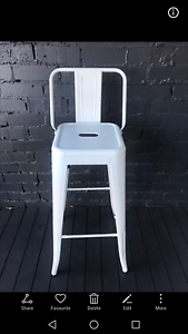 Replica Xavier Pauchard TOLIX stool with back (18 available) Crows Nest North Sydney Area Preview