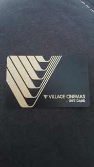 Village Cinemas Gift Card $100.00