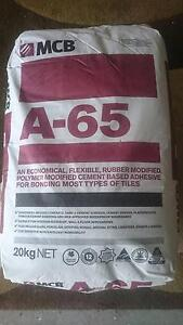 Floor tile adhesive 4 bags $20 per bag  or $80 for the lot Woy Woy Gosford Area Preview