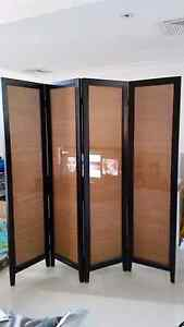 Solid timber folding screen panel Kingsford Eastern Suburbs Preview