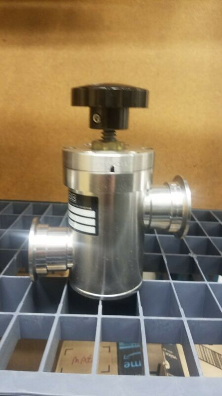 MDC Inline Vacuum Valve with NW 40 Flanges