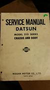 DATSUN 510 1600 SERVICE MANUAL Glen Waverley Monash Area Preview