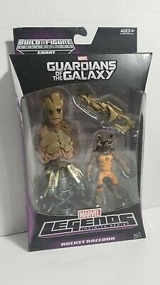 Marvel Legends Rocket Raccoon Groot BAF Guardians of the Galaxy New Sealed