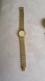 Citizen Ladies Wrist Watch 24ct Gold Plated Water Resistant