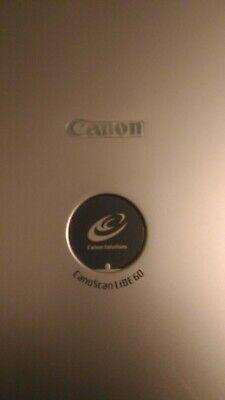 Scanner Piano Canon Scan LIDE 60 autoalimentato.