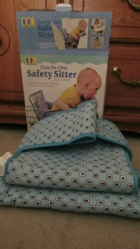 TWO-IN-ONE SAFETY SITTER GUARD NEVER USED