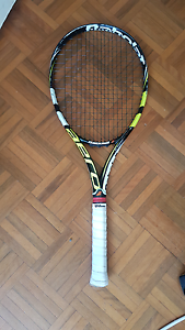 Used babolat aeropro drive plus. Better than wilson yonex prince Meadowbank Ryde Area Preview